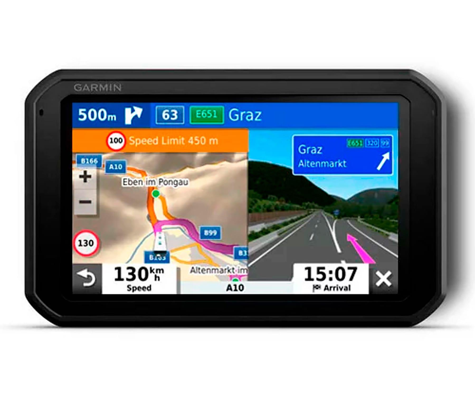 GARMIN CAMPER 785 EU MT-D GPS PARA AUTOCARAVANAS DASH CAM INTEGRADA CON MAPAS PREINSTALADOS DE EUROPA PANTALLA DE 7''