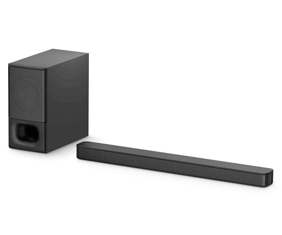 SONY HT-S350 BARRA DE SONIDO 320W 2.1CH DOLBY ATMOS DTS:X BLUETOOTH S-FORCE PRO FRONT SURROUND