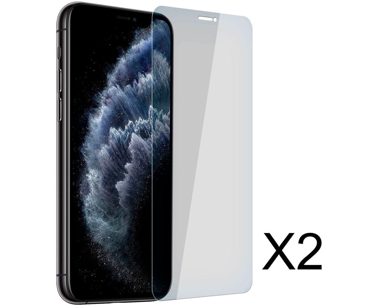 AKASHI ALTSCRIPXIMAX2TG PROTECTOR DE CRISTAL APPLE IPHONE 11 PRO MAX (2 UNIDADES)