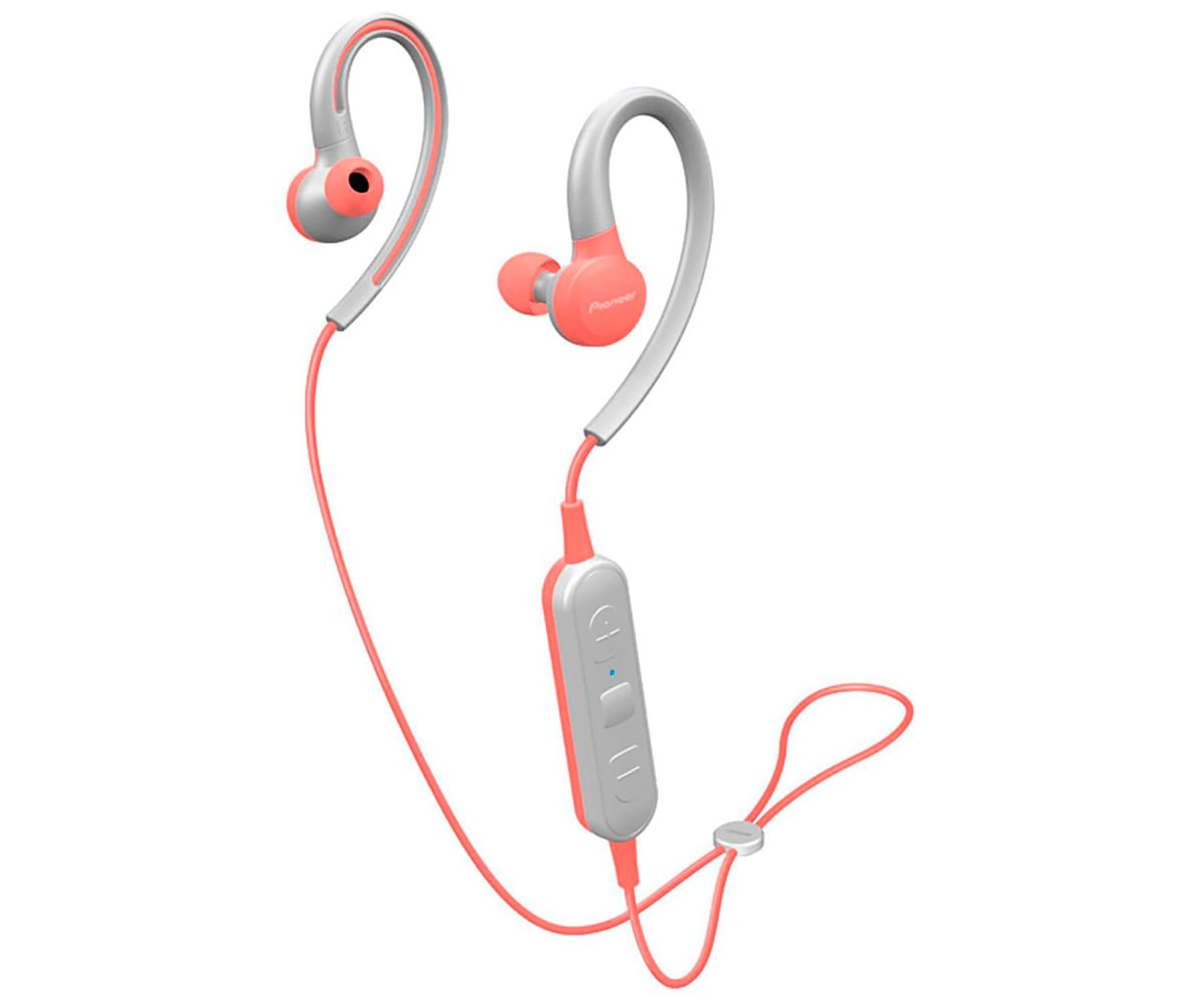 PIONEER SE-E6BT ROSA AURICULARES DEPORTIVOS IN-EAR INALÁMBRICOS E6 WIRELESS IPX4 MANOS LIBRES