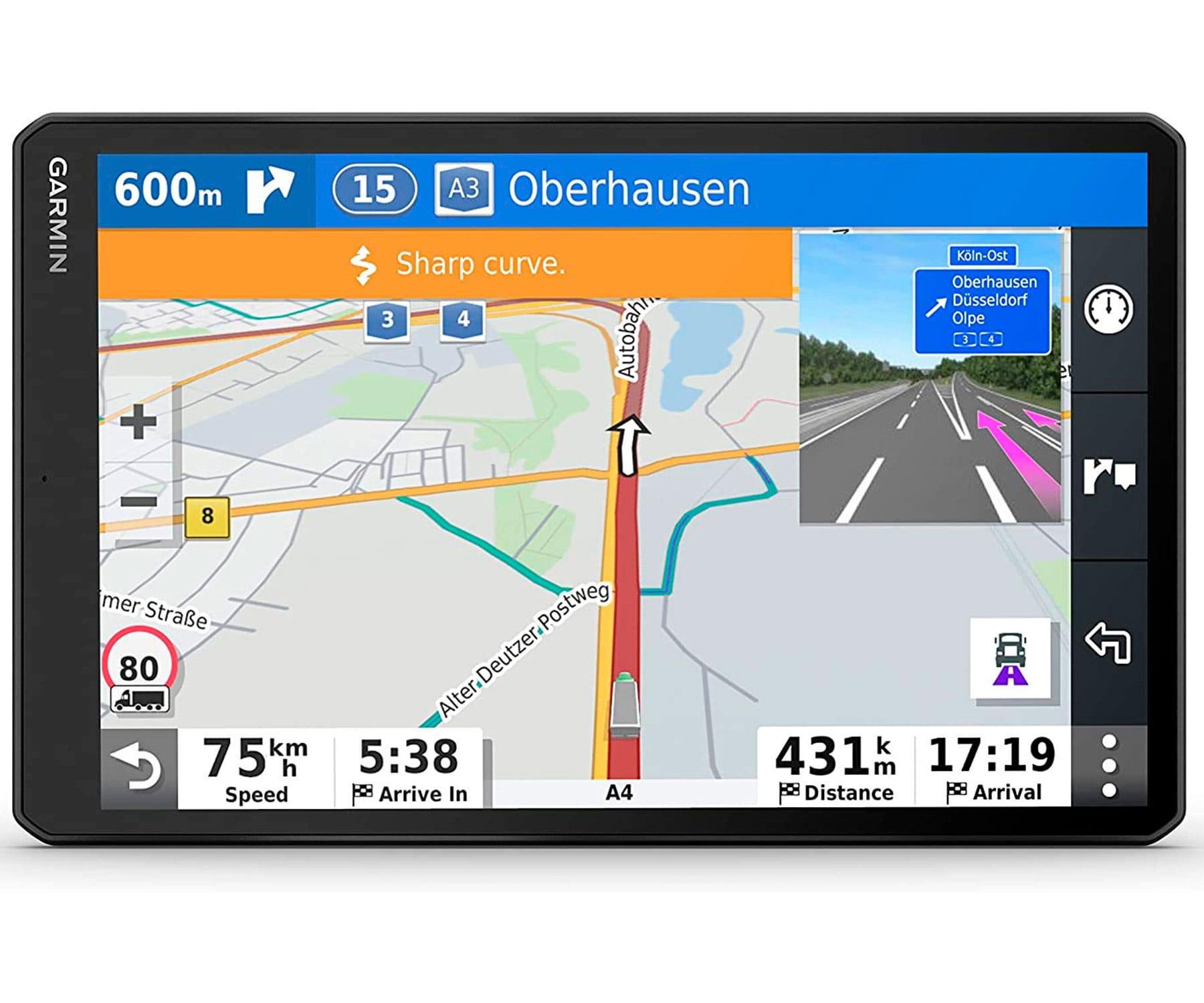 GARMIN DEZL LGV1000 NAVEGADOR PARA CAMIÓN 10'' GPS CON MAPAS PREINSTALADOS DE EUROPA