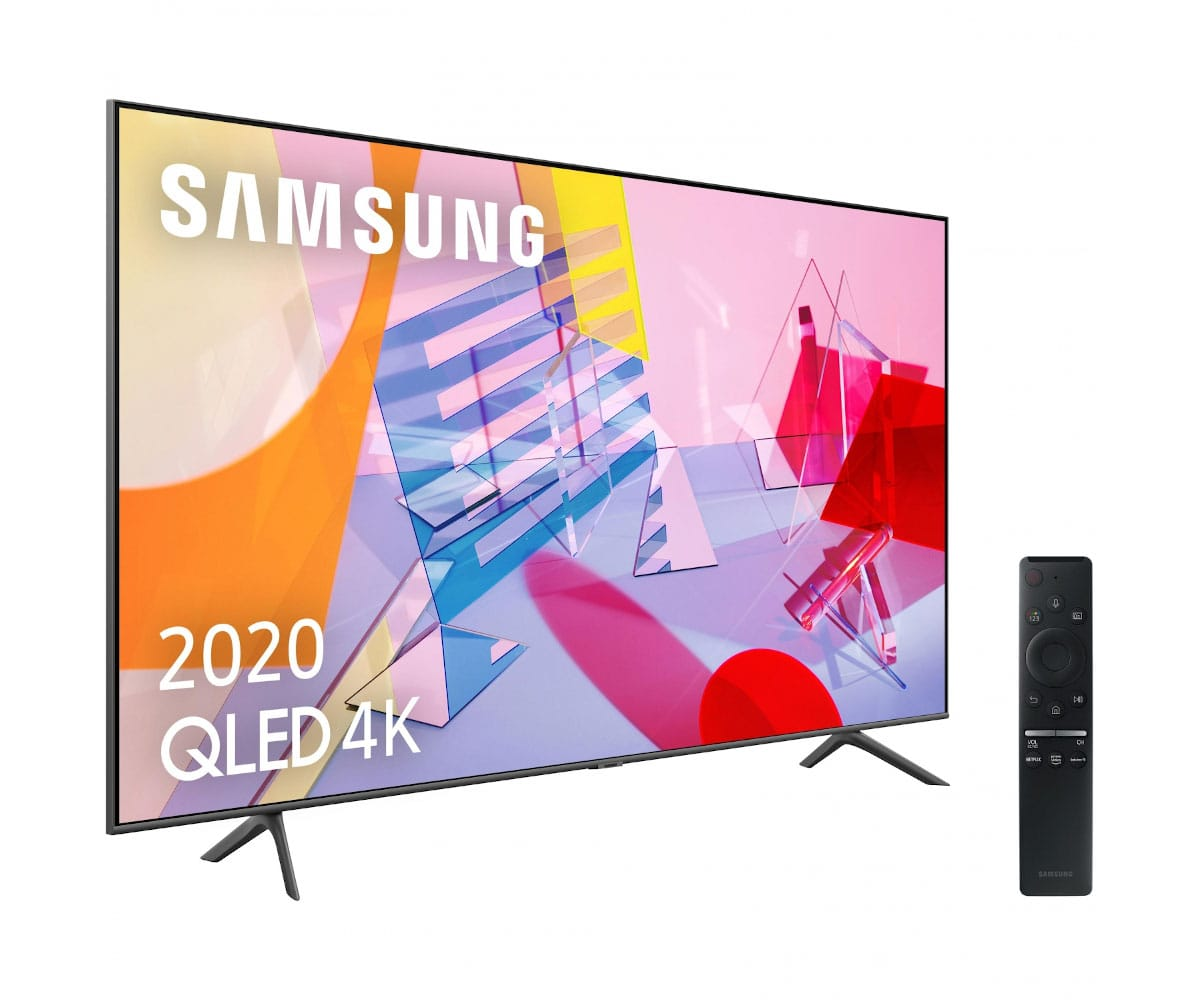 SAMSUNG QE43Q60T 2020 TELEVISOR 43'' QLED 4K QUANTUM HDR SMART TV 3100HZ PQI