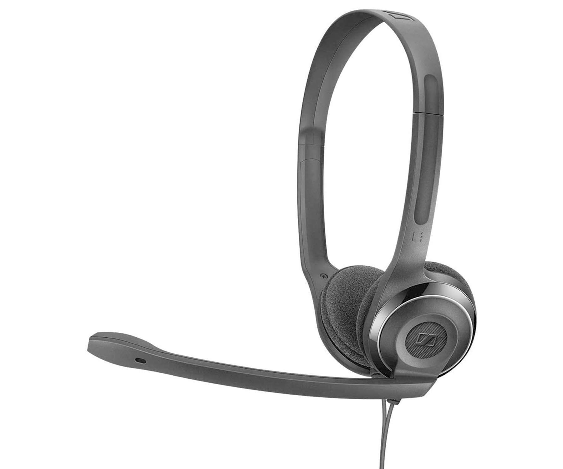 SENNHEISER PC 8 USB NEGRO AURICULARES ON-EAR CON MICRÓFONO CON CANCELACIÓN DE RUIDO