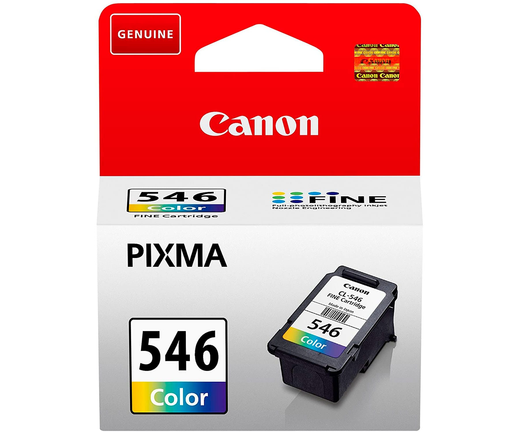 CANON CL-546 TRICOLOR CARTUCHO DE TINTA 8ML FINE PIXMA CIAN MAGENTA AMARILLO