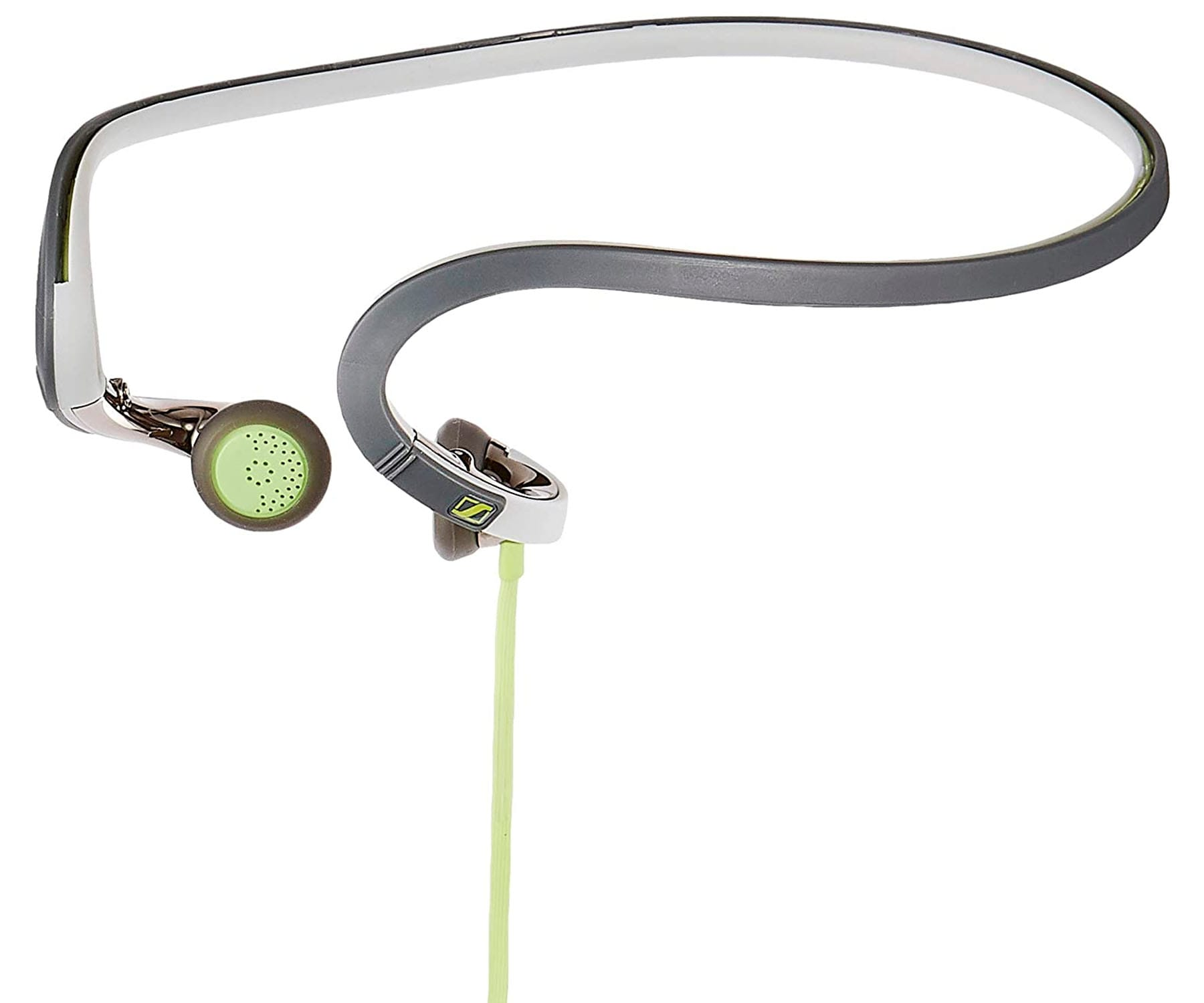SENNHEISER PMX686G VERDE AURICULAR CUELLO SPORT IN-EAR CON MICRÓFONO CONTROL DE VOLUMEN JACK 3.5mm