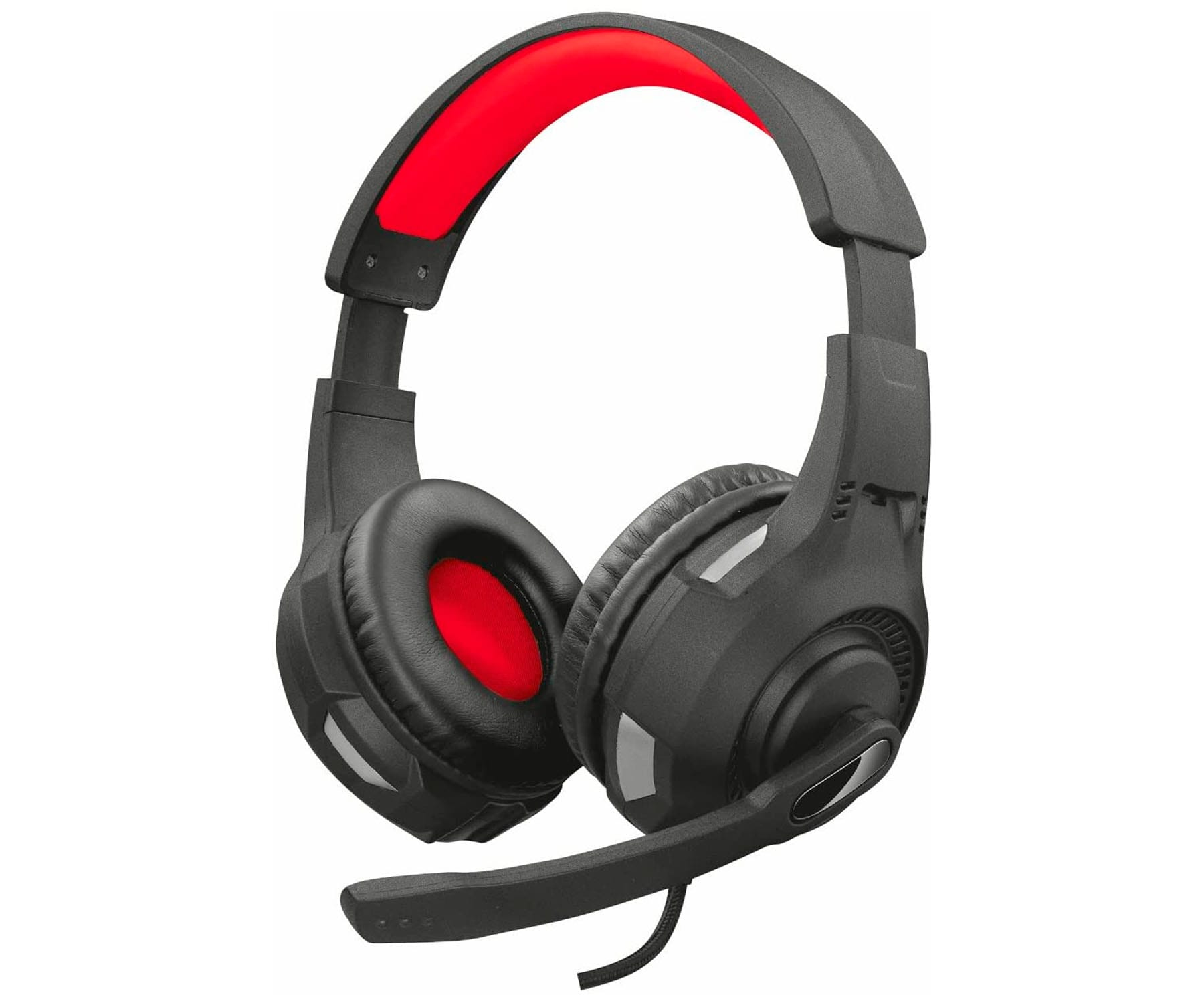 TRUST GXT307 NEGRO ROJO AURICULARES OVER-EAR CON MICRO PARA GAMING