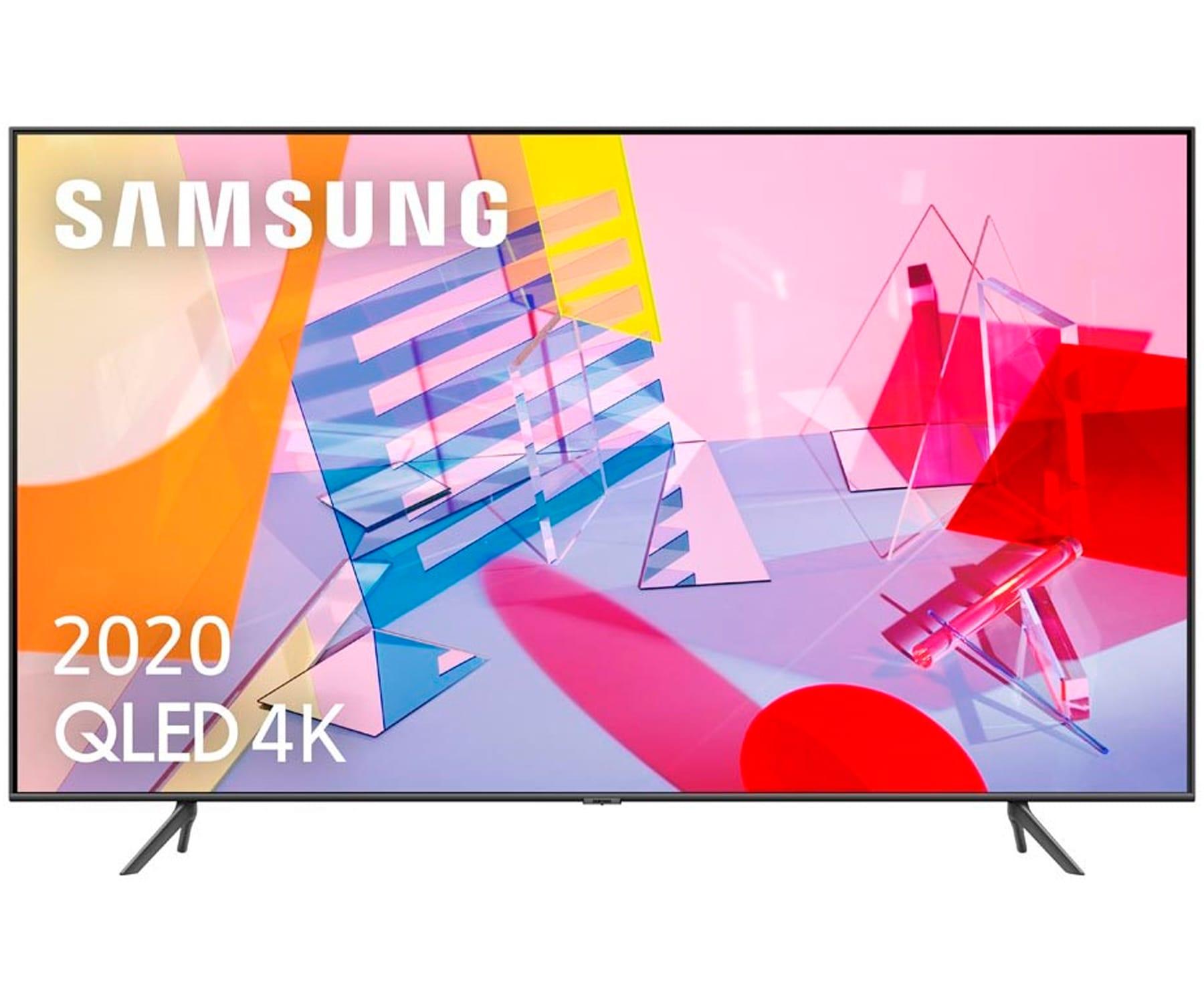 SAMSUNG QE75Q60T 2020 TELEVISOR 75'' QLED 4K QUANTUM HDR SMART TV 3100HZ PQI