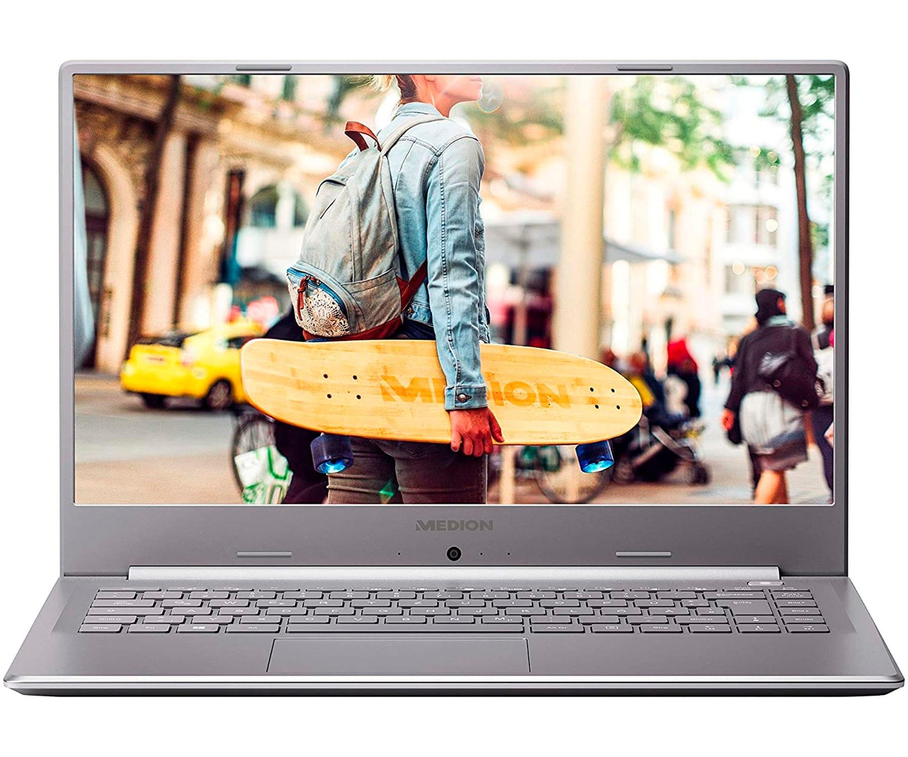 MEDION E6247 MD62007 PLATA PORTÁTIL 15.6'' FullHD CEL-N4020 512GB SSD 8GB RAM FREEDOS