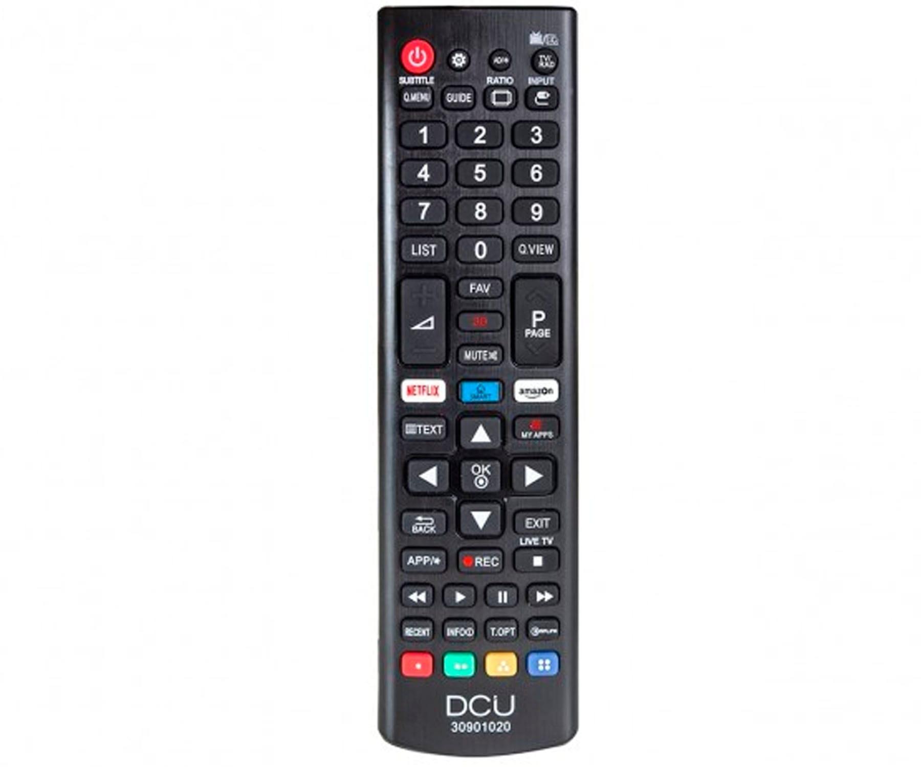 DCU 30901020 MANDO A DISTANCIA UNIVERSAL PARA TELEVISORES LG LCD/LED