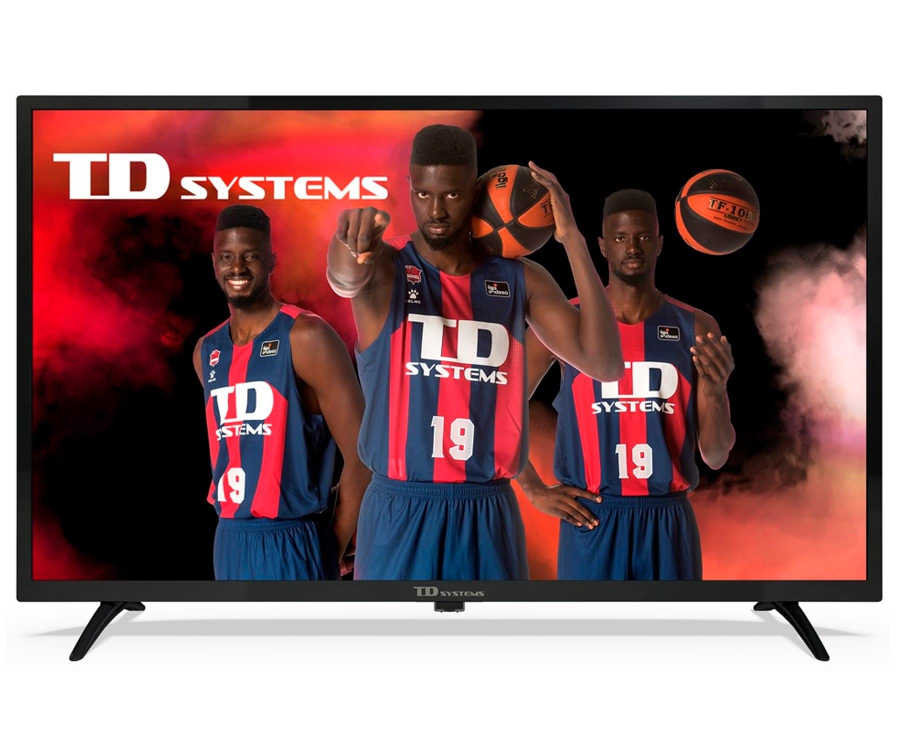 TD SYSTEMS K32DLK12H TELEVISOR 32'' DIRECT LED HD READY HDMI USB DOLBY DIGITAL PLUS