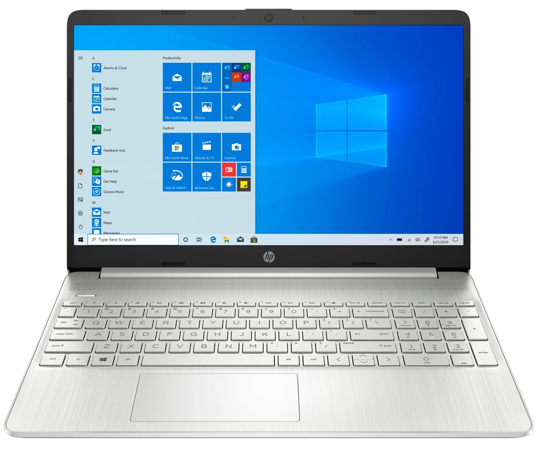 HP LAPTOP 15s-EQ1090 PLATA PORTÁTIL 15.6'' HD AMD RYZEN 5-4500U 256GB SSD 8GB RAM WINDOWS 10 HOME