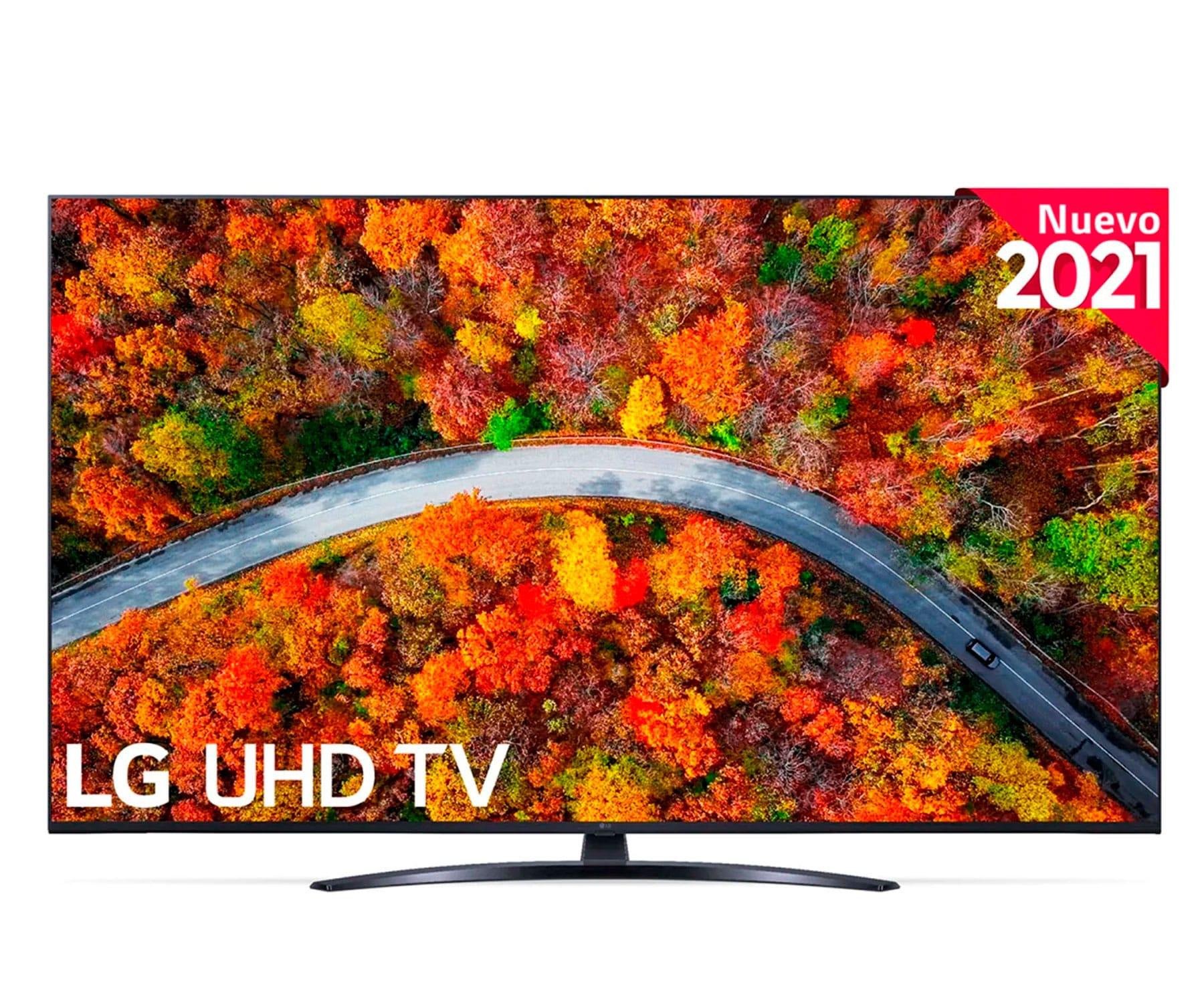 LG 43UP81006LA TELEVISOR 43'' LED UHD 4K SMART TV WEBOS 6.0 WIFI HDMI BLUETOOTH