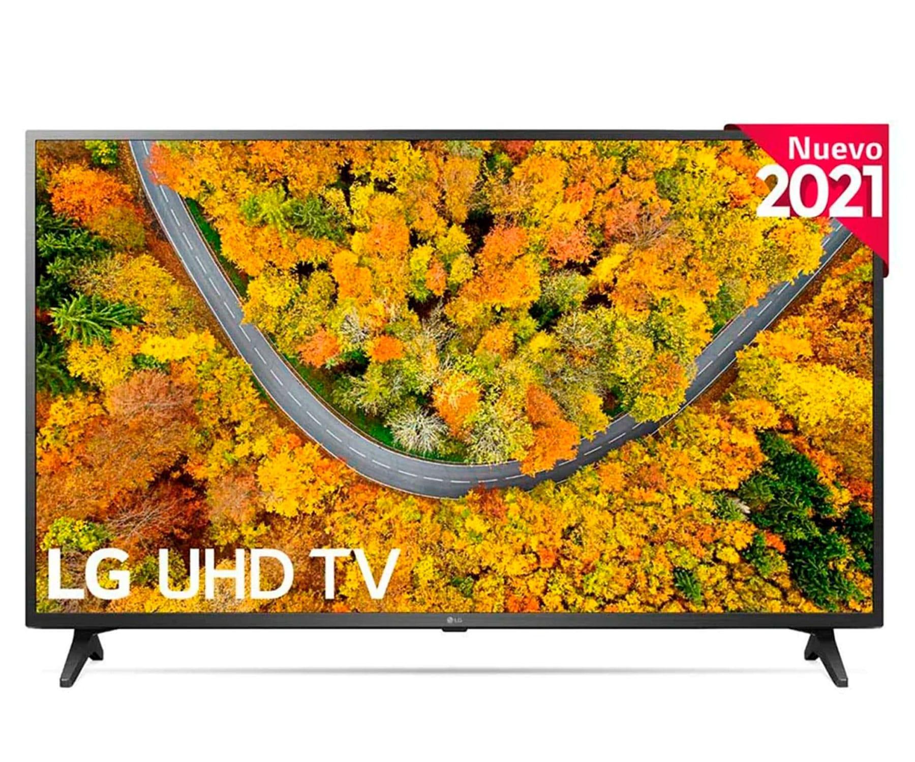 "LG 55UP75006LF 4K UHD 55""/SMARTTV/WEBOS 6.0/4K QUAD CORE/GAMING TV/COMPATIBLE HDR10 PRO/HLG"