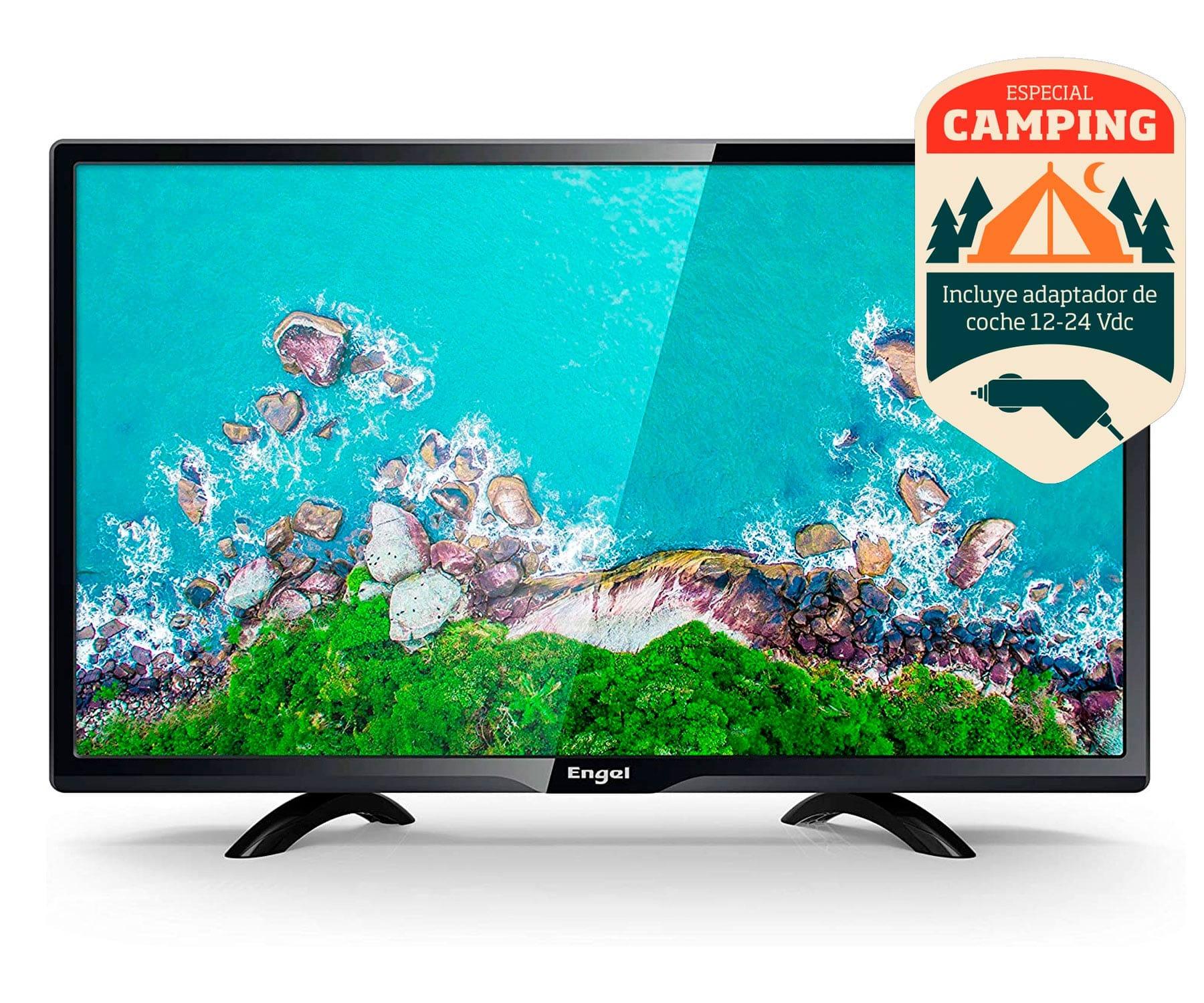 ENGEL 24LE2462T2 TELEVISOR 24'' HD ESPECIAL CAMPING 12V