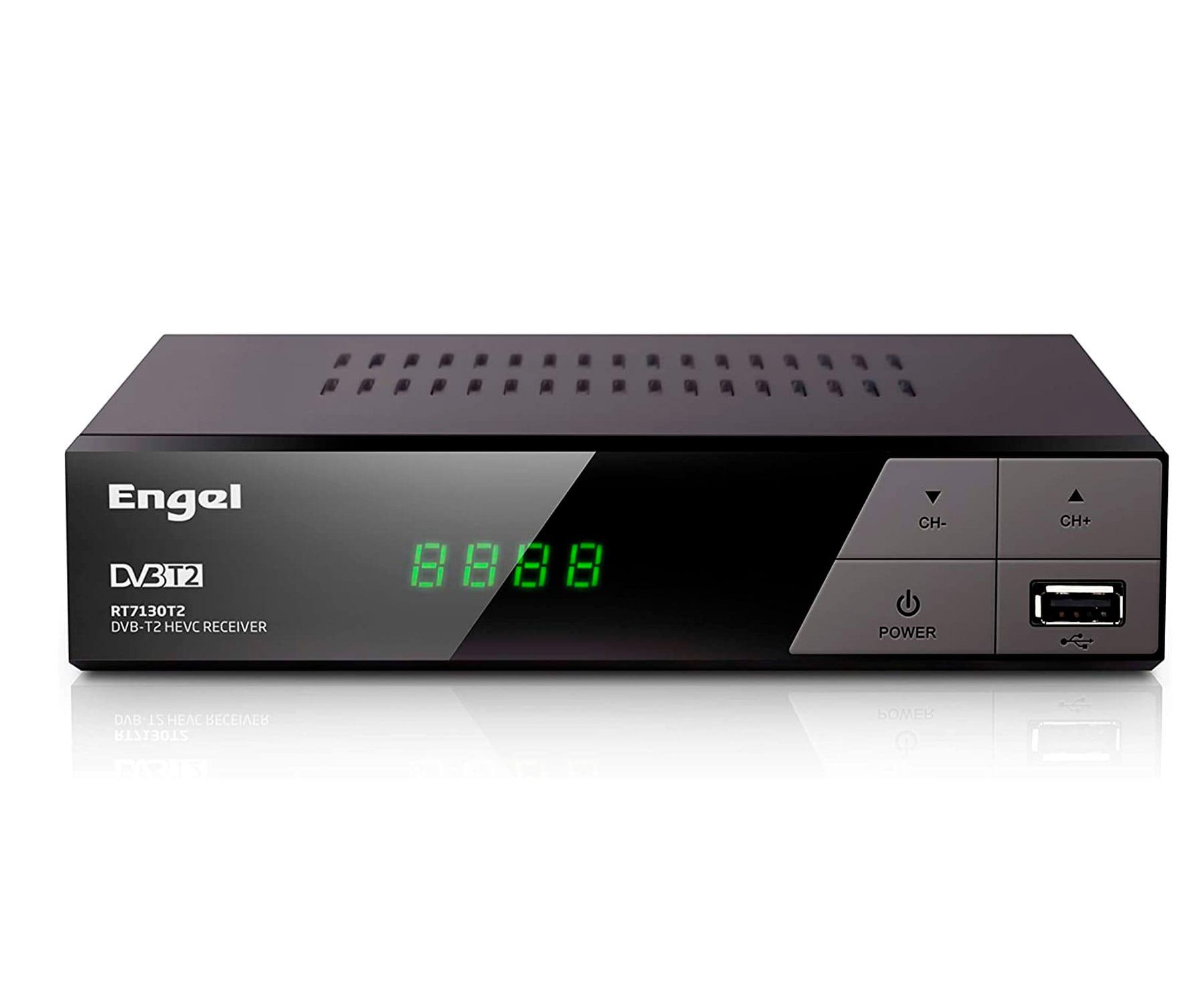 ENGEL RT7130T2 DVB-T2 HEVC/GRABADOR RECEPTOR DIGITAL TERRESTRE/HD Y SD/FUNCIÓN TIMESHIFT