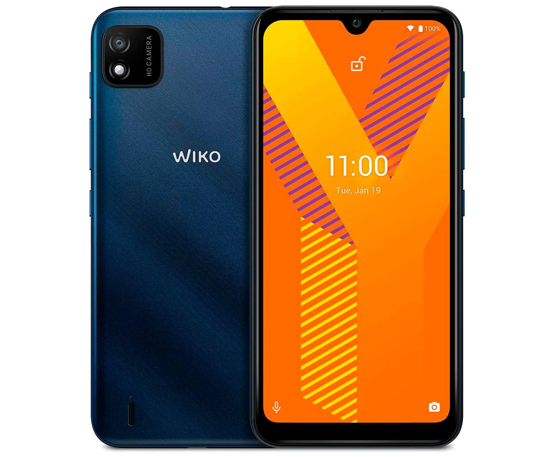 """WIKO Y62 AZUL (DARK BLUE) 1+16GB / 6.1"""" / DUAL SIM"""