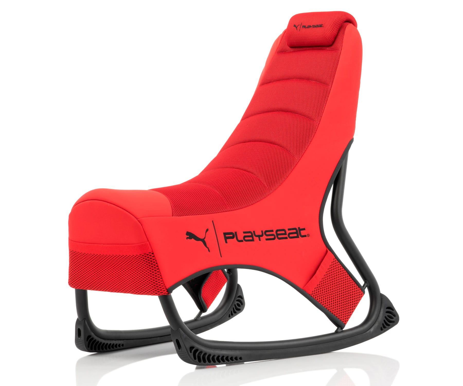 PLAYSEAT PUMA GAME SEAT  SILLA GAMING ROJA/LIBERTAD DE MOVIMIENTO