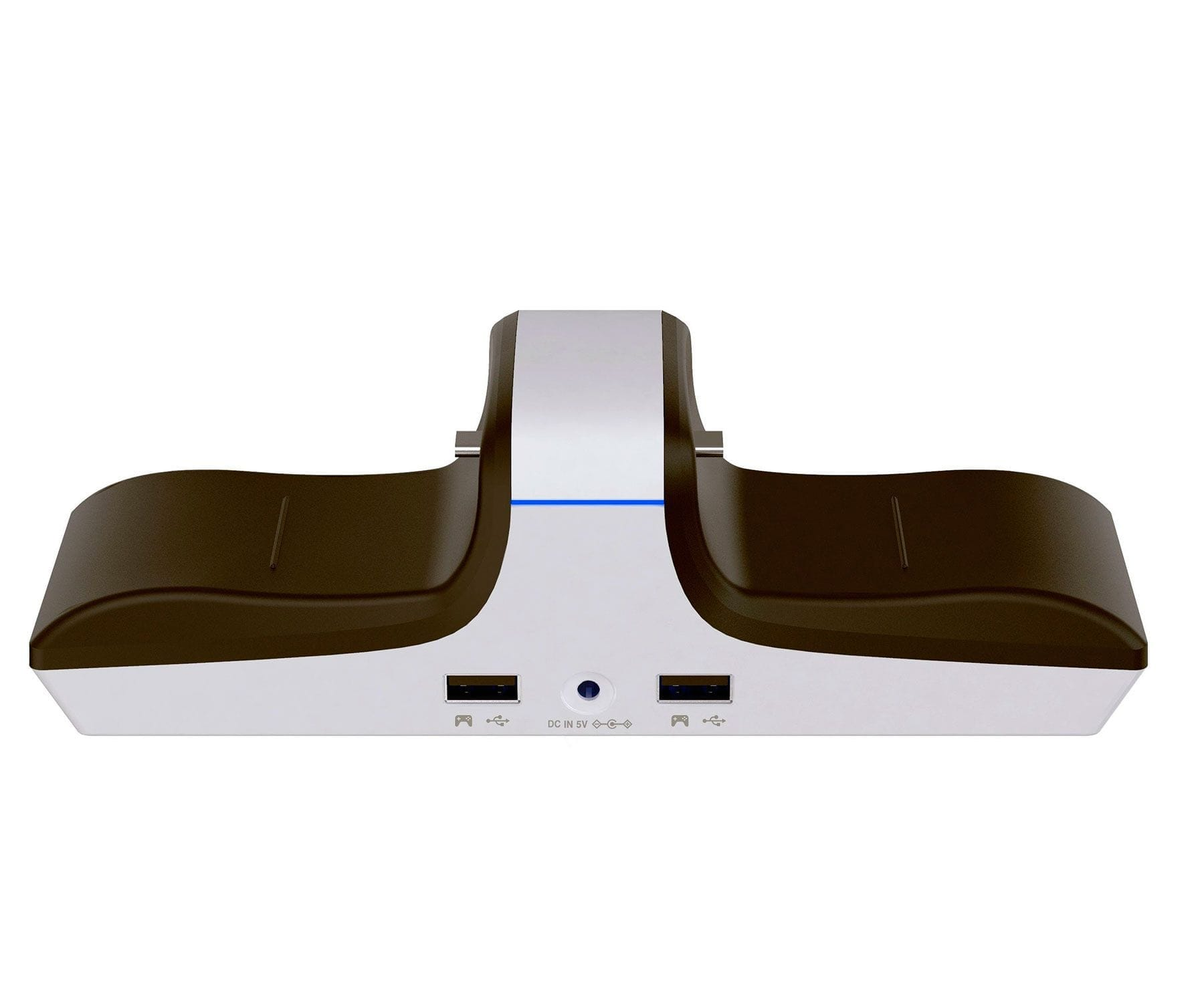 RAPTOR CS200-U CARGADOR MANDOS PS4/PS5/PUERTOS USB ADICIONALES