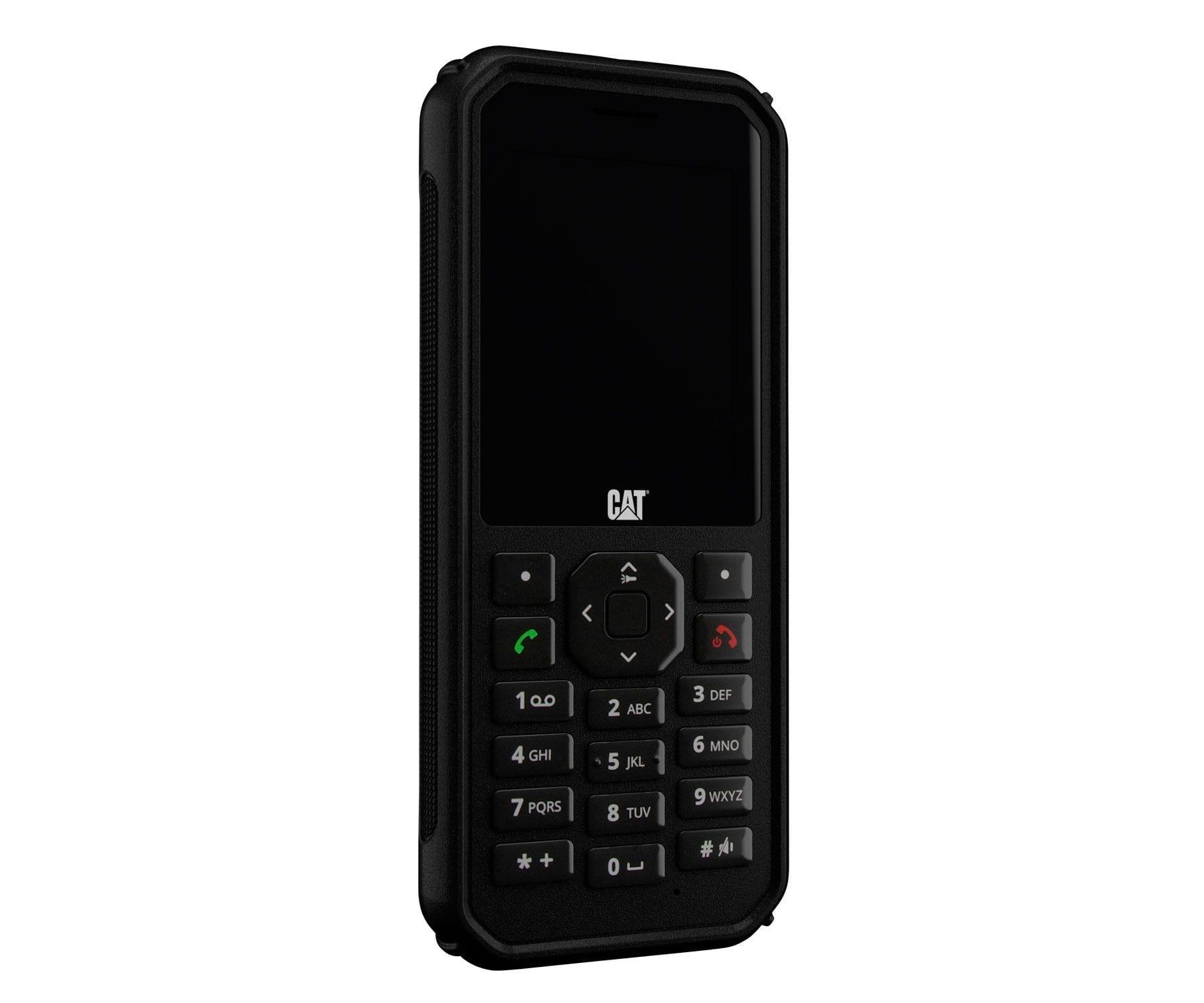 CAT B40 TELÉFONO NEGRO/DUAL SIM/4G/RESISTENTE AL POLVO Y AL AGUA