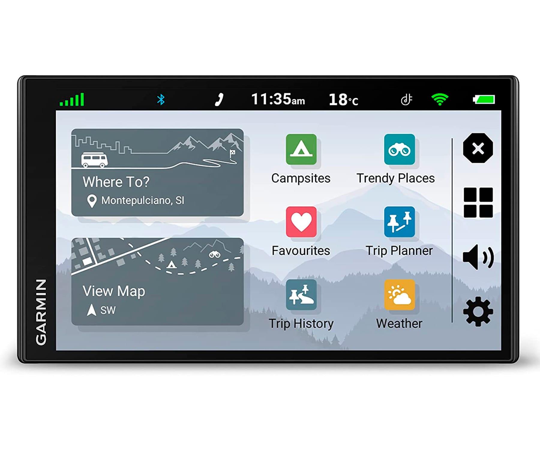 """GARMIN CAMPERVAN NAVEGADOR GPS PARA CAMPER / 6.95"""" / MAPAS EUROPA"""