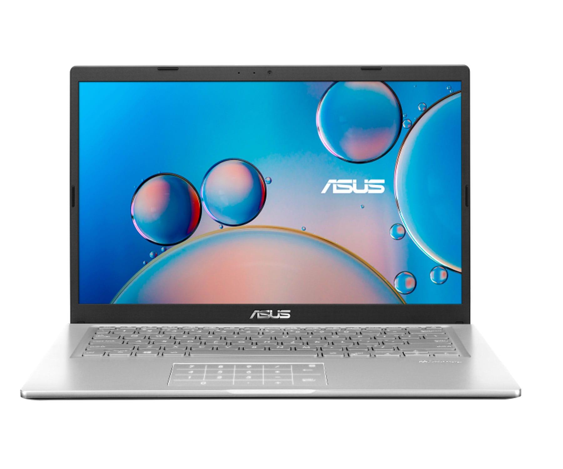 "ASUS VIVOBOOK F415 PORTÁTIL PLATA 14"" HD+ / CELERON N4020 / 4GB / 256GB SSD / WINDOWS"