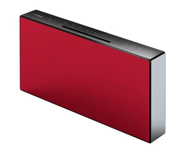 SONY CMT-X3CDR ROJO SISTEMA HI-FI CON TECNOLOGÍA BLUETOOTH NFC