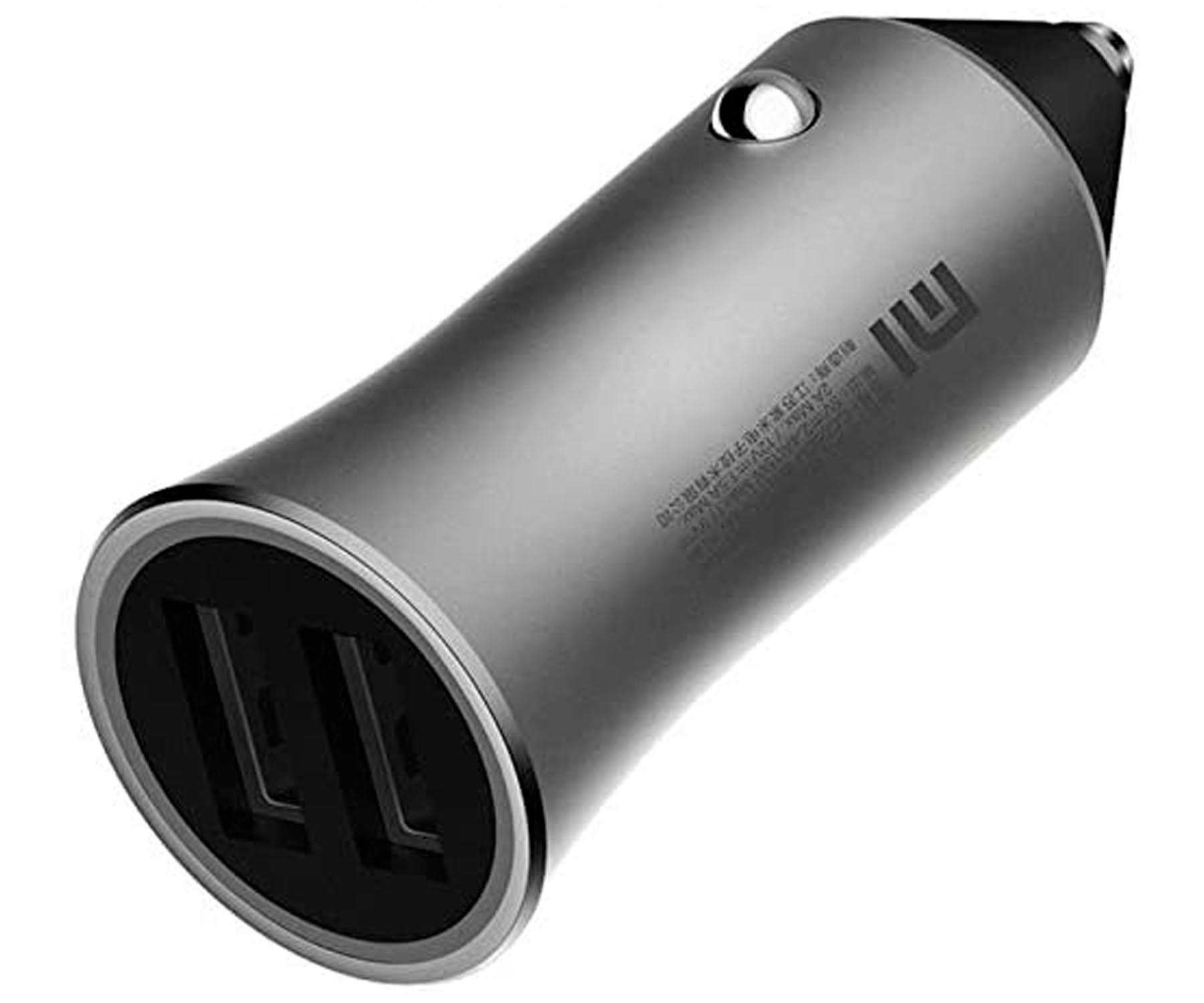 XIAOMI GDS4104GL CARGADOR DOBLE USB PARA MECHERO DEL COCHE 18W