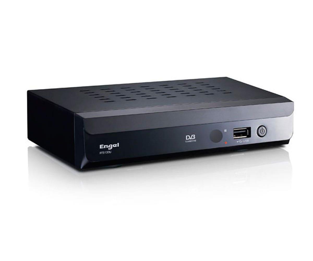 ENGEL RT5130U RECEPTOR DIGITAL TERRESTE CON USB EUROCONECTOR Y AUDIO COAXIAL SPDIF